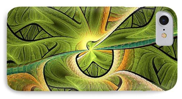 Green Hills IPhone Case by Anastasiya Malakhova