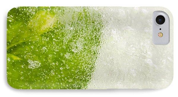 Green Ice Phone Case by Ahmed Tarek Shaffik