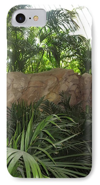 IPhone Case featuring the photograph Green Interiors Vegas Casinos Resorts Hotels by Navin Joshi