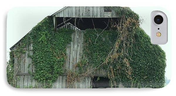 Green Ivy Barn Phone Case by Terry Scrivner