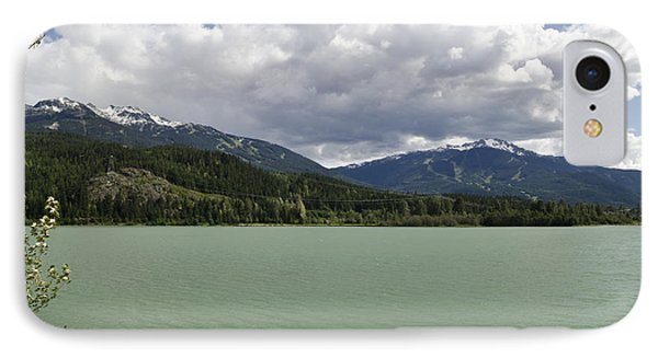 IPhone Case featuring the photograph Green Lake At Whistler by Maria Janicki