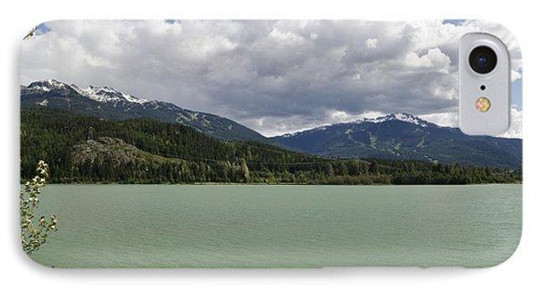 Green Lake At Whistler IPhone Case by Maria Janicki