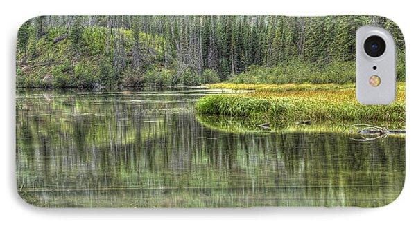 IPhone Case featuring the photograph Green Lake by Wanda Krack