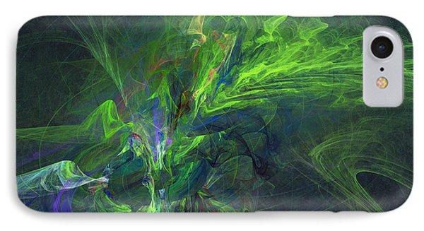Green Metamorphosis IPhone Case by Martin Capek