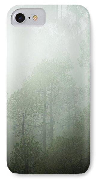 Green Mist IPhone Case by Rajiv Chopra
