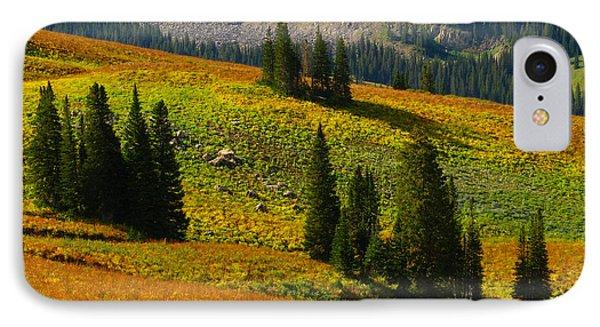 Green Mountain Trail Phone Case by Raymond Salani III