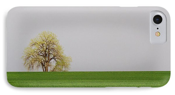 Green On Green IPhone Case by Jim Garrison
