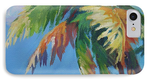 Green Palm  IPhone Case by John Clark