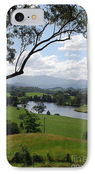 Green Pastures IPhone Case by Ankya Klay