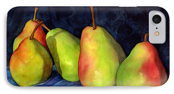Green Pears IPhone Case by Hailey E Herrera