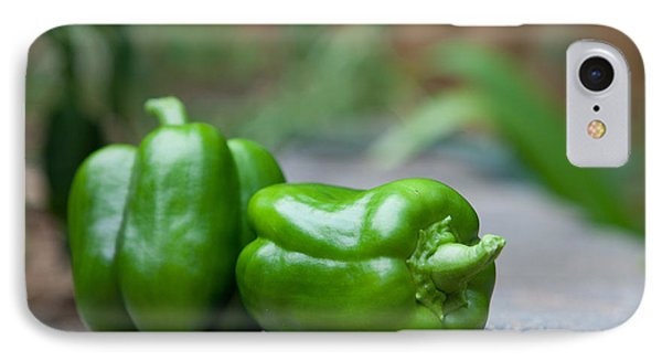 Green Peppers IPhone Case