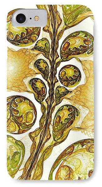 Green Plant IPhone Case by Anastasiya Malakhova