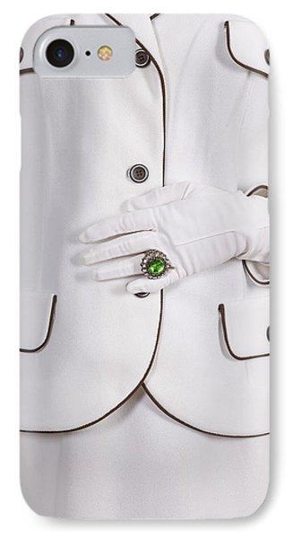 Green Ring Phone Case by Joana Kruse