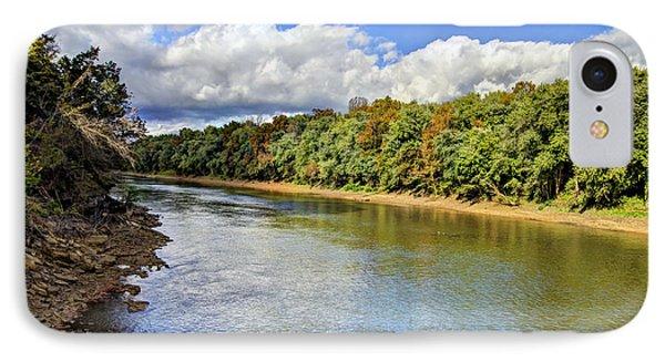 Green River Phone Case by Joan McCool