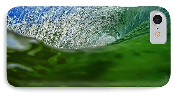 Green Room Wave IPhone Case by Brad Scott