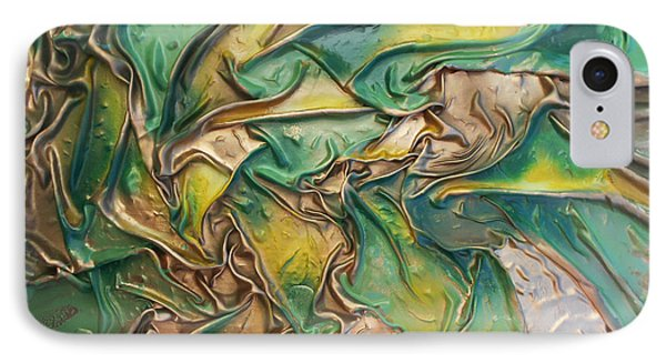 Green Roots IPhone Case by Angela Stout