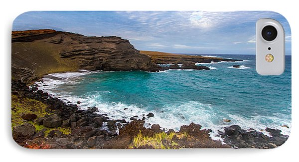 Green Sand Beach Hawaii All Profits Go To Hospice Of The Calumet Area IPhone Case