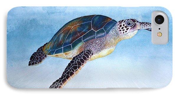 Green Sea Turtle II IPhone Case