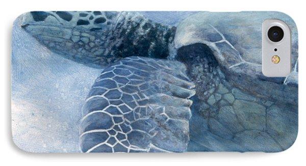 Green Sea Turtle Phone Case by Randall Scott