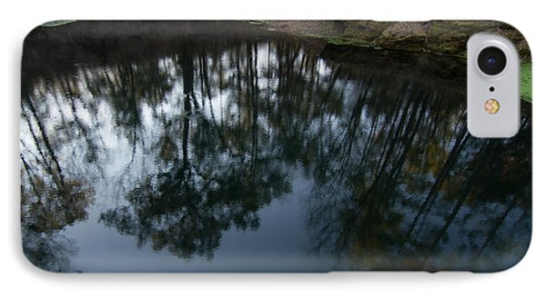 IPhone Case featuring the photograph Green Sink Reflection by Paul Rebmann