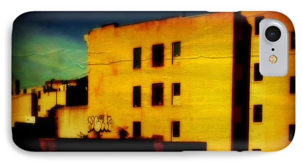 IPhone Case featuring the photograph Green Sky by Miriam Danar