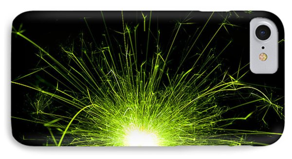 Green Sparkle IPhone Case