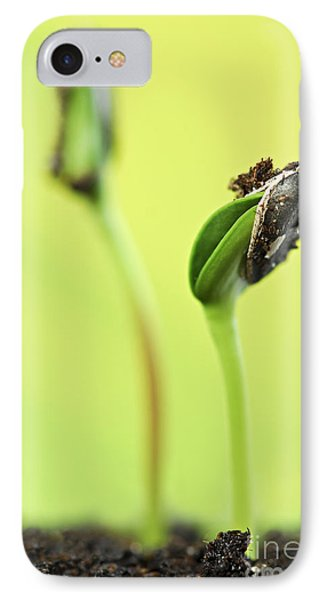 Green Sprouts Phone Case by Elena Elisseeva