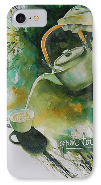 Green Tea Phone Case by Adel Nemeth