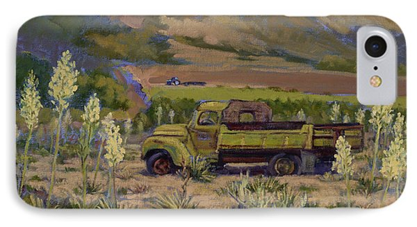 Green Truck- Blooming Yuccas IPhone Case