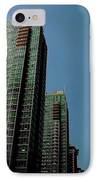 Green Vancouver Towers IPhone Case