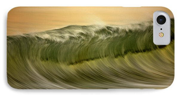 Green Wave #2  C6j7496 IPhone Case by David Orias