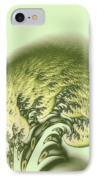Green Wave IPhone Case by Anastasiya Malakhova