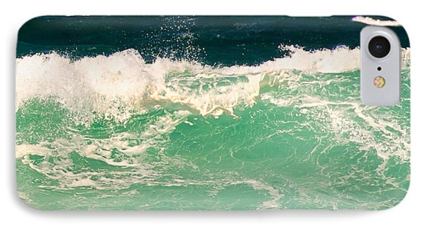 Green Wave Pacific Grove Ca  Phone Case by Artist and Photographer Laura Wrede