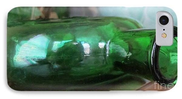 Green With Envy IPhone Case by Arlene Carmel