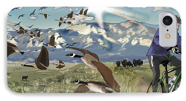 Greenbelt Plateau Boulder Co IPhone Case by David Fossaceca