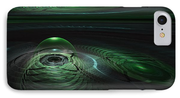 IPhone Case featuring the digital art Greenland Outpost by GJ Blackman