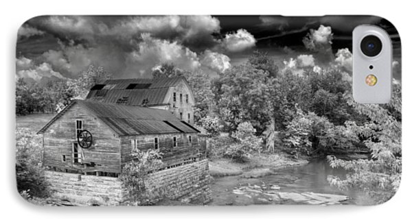 Greens Mill At Falls Of Rough Kentucky IPhone Case by Wendell Thompson