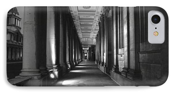 Greenwich Royal Naval College Hdr Bw IPhone Case