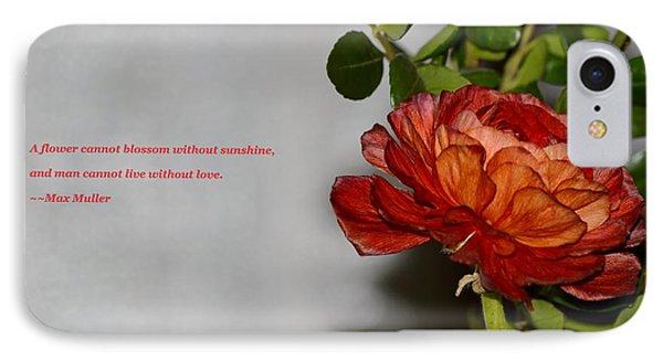 Greeting Of Love Phone Case by Sonali Gangane