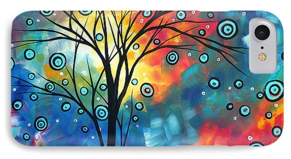 Greeting The Dawn By Madart Phone Case by Megan Duncanson