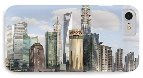 Greetings From Shanghai IPhone Case by Michel Verhoef