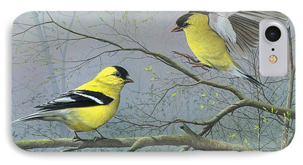 Greetings My Friend IPhone Case by Mike Brown