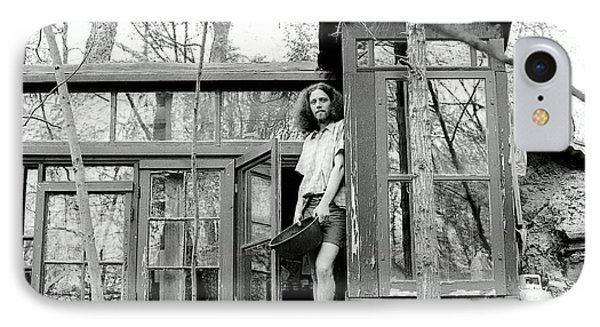 Greg's Solar Home 1979 Phone Case by Ed Weidman