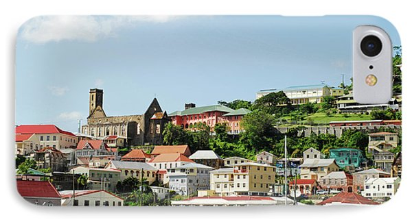 Grenada, St George, Carenage, View IPhone Case by Anthony Asael