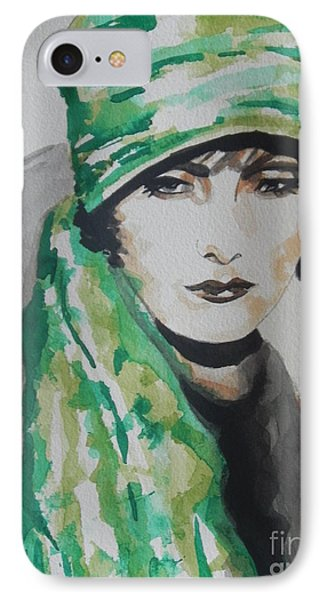 Greta Garbo Phone Case by Chrisann Ellis