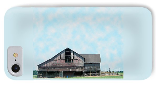 IPhone Case featuring the photograph Grey Barn by Gena Weiser