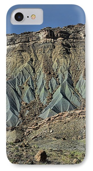 IPhone Case featuring the photograph Grey Cliffs In Waterpocket Fold  by Gregory Scott