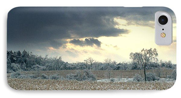 Grey Clouds IPhone Case by Douglas Pike