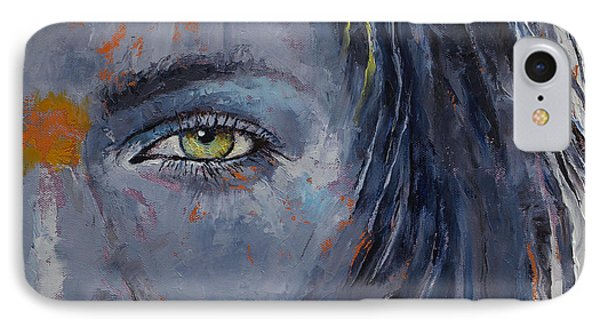 Grey IPhone Case by Michael Creese