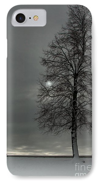 Grey Morning IPhone Case by Steven Reed